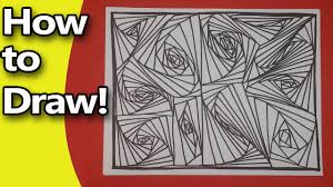 how to make a zendoodle how to draw a zen doodle easy step by step tutorial