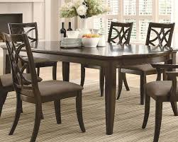 Coaster Dining Room Table Dining Table W Leaf Extensions Meredith Co 103531