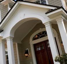 Exterior Door Pediment And Pilasters Window And Door Trim