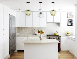 3 ways to use kitchen island modern lighting in a white kitchen