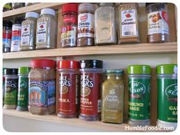 diy build your own spice rack humble foodie
