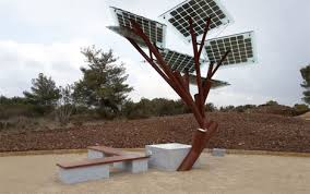 phone chargers are artificial solar powered trees gadgets