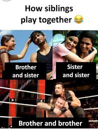 Brother Sister Memes - haha siblings brother sister fight meme haha play noor