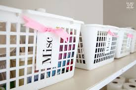 how to organize in style using dollar store baskets in my own style