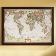 Cool Maps Of The World by Framed U0026 Laminated Wall Maps National Geographic Store