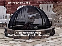 Firepit Screen 108 Best Custom Stainless Steel Pit Spark Screens Images On