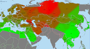 Eurasia Map Anthromadness Ancient North Eurasian