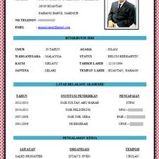 format artikel yang benar contoh resume bahasa melayu yang baik pic contoh resume pinterest