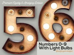 marquee numbers with lights free marquee light bulbs 3d numbers by cruzinedesign dribbble