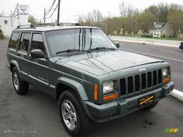 2000 jeep classic 2000 medium fern green metallic jeep cherokee classic 4x4