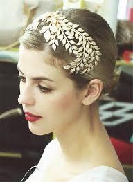 hair decoration tiara hair comb hair clip metal leaf jewelry bridal