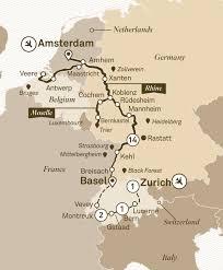 Black Forest Germany Map Romantic Rhine U0026 Moselle With Switzerland River Cruises Europe