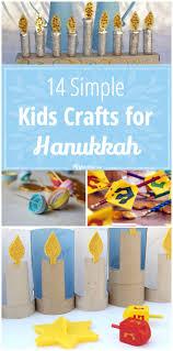 14 simple kids crafts for hanukkah tip junkie