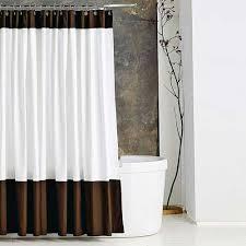Luxury Shower Curtain White Cotton Luxurious Shower Curtain Shower Curtain Rod