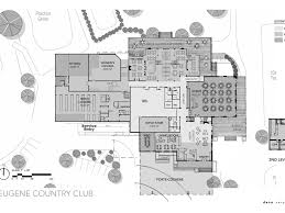 Country Club Floor Plans Deca Inc Eugene Country Club