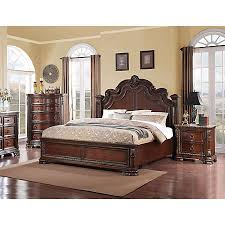 Riviera Cherry Collection Master Bedroom Bedrooms Art Van - Bedroom sets at art van