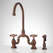 gooseneck faucet kitchen kitchen faucets signature hardware bronze gooseneck faucet rare