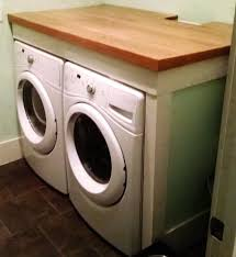 Countertop Clothes Dryer Laundry Room Countertop Diy Install A Laundry Room Countertop Ikea