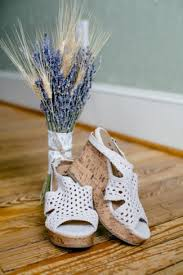 wedding shoes cork gorgeous farm wedding in fredericksburg virginia lavender
