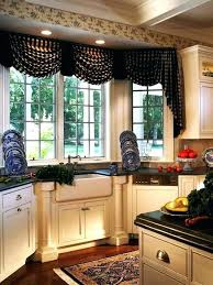 valance ideas for kitchen windows kitchen bay window kitchen window valances image of kitchen valance