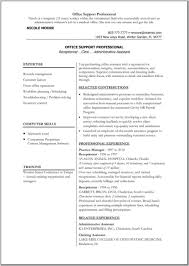Resume Templates Medical by Best Photos Of Office Resume Templates Medical Microsoft Word