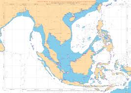 South China Sea Map Oktober 2014 U2013 Sailing Around The World
