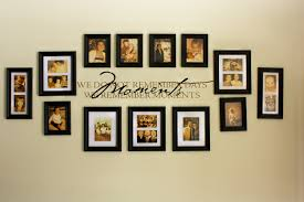 wall decor photo frames home design styles interior ideas new