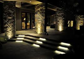 Patio Led Lights Led Patio And Stair Lighting Contemporary Patio St