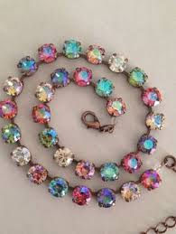 crystal necklace swarovski images Stunning crystal signifies purity and it is also known as an jpg