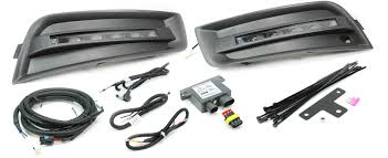 custom led daytime running lights drl by rostra