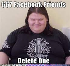 Facebook Friends Meme - how many friends do you have lol the remove friend