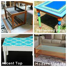 used ca used furniture diy upcycled coffee tables fun options to modernize this table