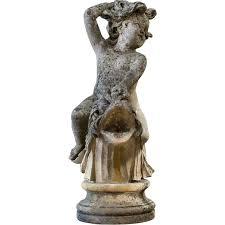 garden ornaments 19th century limestone garden cherubs statues at