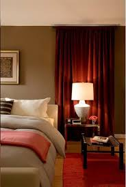 red bedroom curtains like to color to go with the red accents in my house maybe a