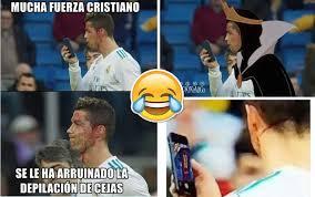 Memes De Cristiano Ronaldo - los memes se burlan de cristiano ronaldo tras revisar su rostro
