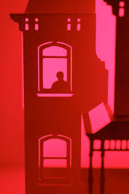amityville horror house red room kirigami thelondonphile
