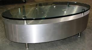 Oval Glass Top Coffee Table Oval Glass Top Coffee Table Gallery House Photos Powerful