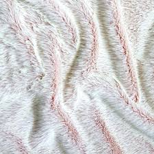 light pink fur blanket pink fur throw light blanket thechowdown