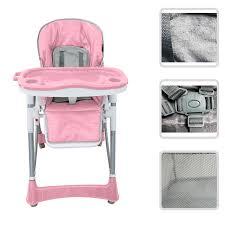 chaise cinema enfant babyfield chaise haute règlable pour bébé chaise rose avec
