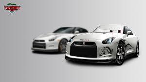 Nissan Gtr Drift - nissan gt r pixar cars made by me