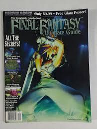 final fantasy vii ultimate guide versus books casey loe amazon