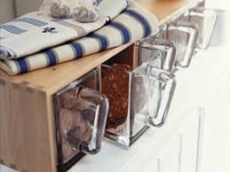 Ikea Kitchen Canisters Ikea Forhoja Shelf Choose Glass Or Wood Containers And Attach