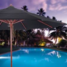11 Foot Patio Umbrella 11 U0027 Wood Market Umbrellas Patio Umbrellas Ipatioumbrella Com