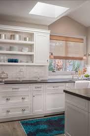 White Kitchen Cabinets With Black Granite Countertops White Subway Tile White Cabinets Black Countertop Dark Wood