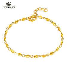 gold fine bracelet images Women 24k gold bracelet genuine pure 999 gold carambola female jpg