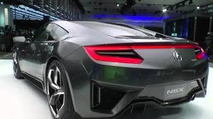 honda supercar concept 2015 acura honda nsx concept ii youtube