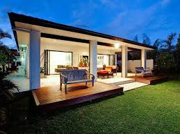 outdoor living design with deck from a real australian home