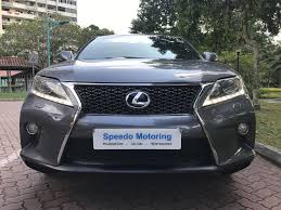 lexus singapore new car lexus rx350 f sport speedo motoring pte ltd