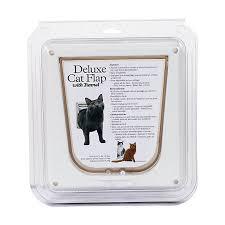 Interior Cat Door With Flap by Petsafe Deluxe Cat Flap Cat Doors Petsmart