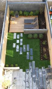 Small Narrow Backyard Ideas Backyard Landscape Designs As Seen From Above Best Design Small